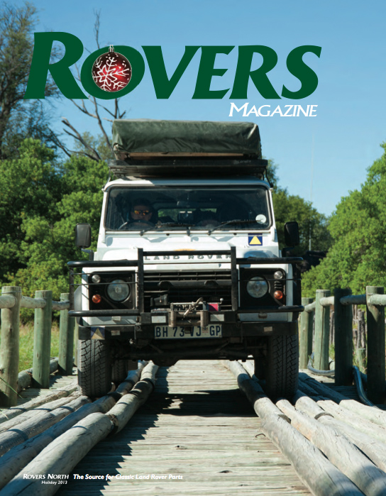 Cover of the Holiday 2013 Rovers North magazine