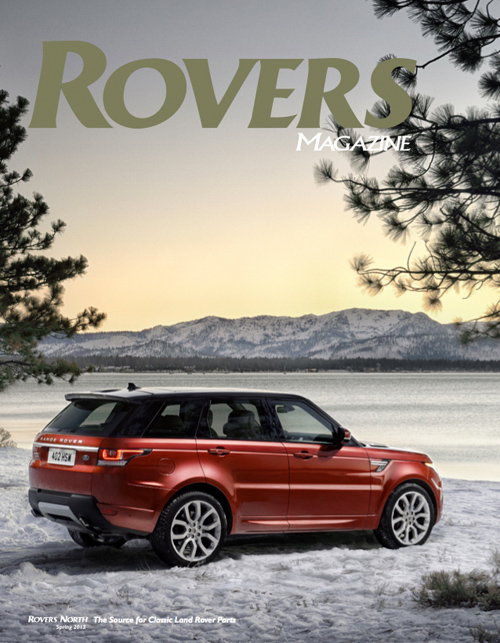 Cover of the Spring 2013 Rovers North magazine