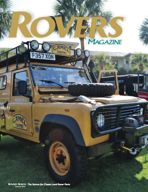 Cover of the Summer 2014 Rovers North magazine