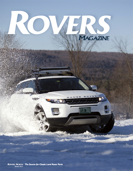 Cover of the Winter 2012 Rovers North magazine