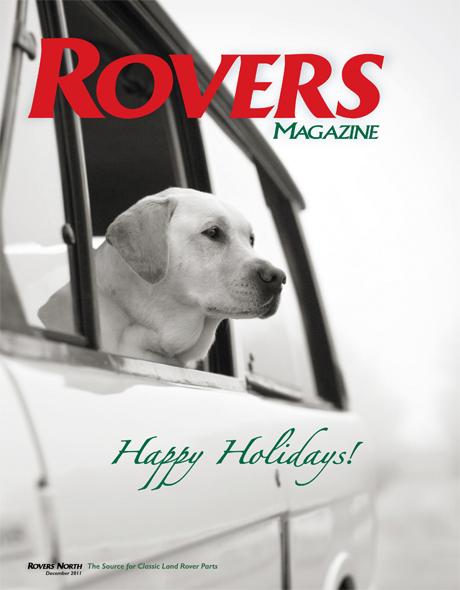 Cover of the Holiday 2011 Rovers North magazine