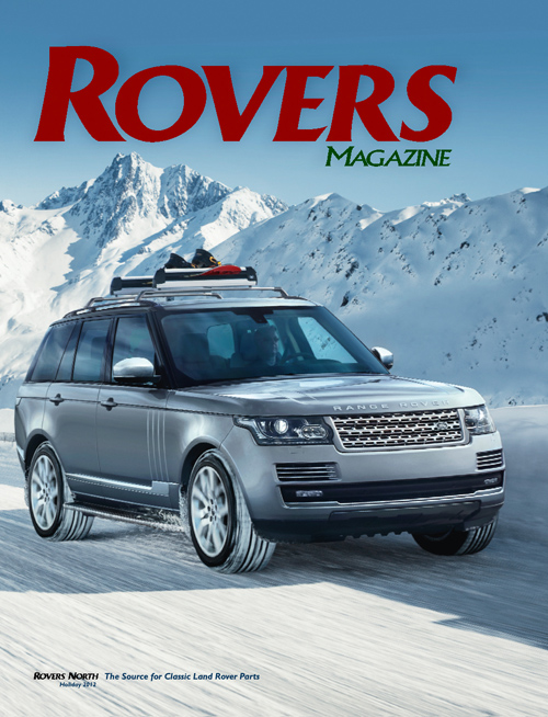 Cover of the Holiday 2012 Rovers North magazine