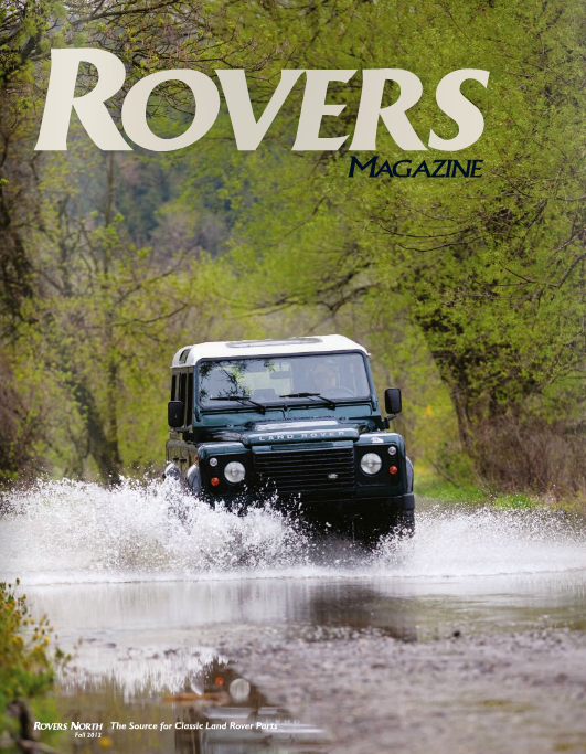 Cover of the Fall 2012 Rovers North magazine