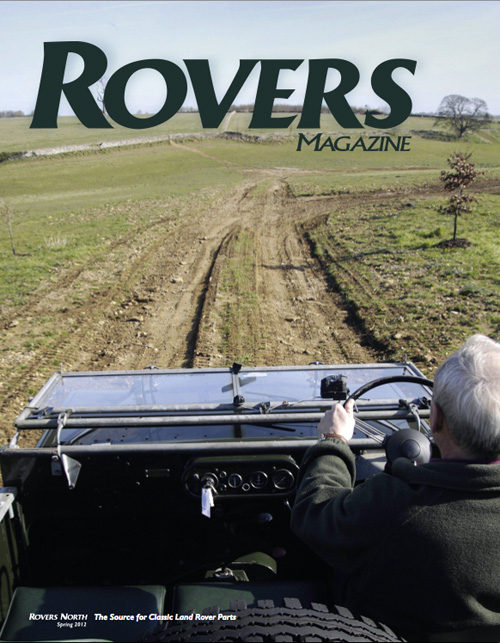 Cover of the Spring 2012 Rovers North magazine