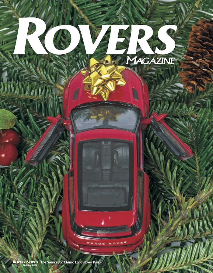 Cover of the Holiday 2014 Rovers North magazine
