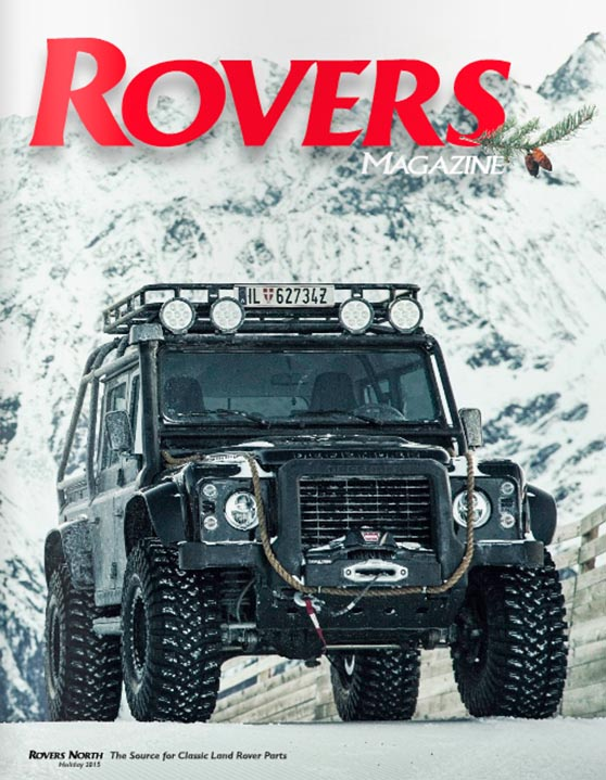 Cover of the Holiday 2015 Rovers North magazine