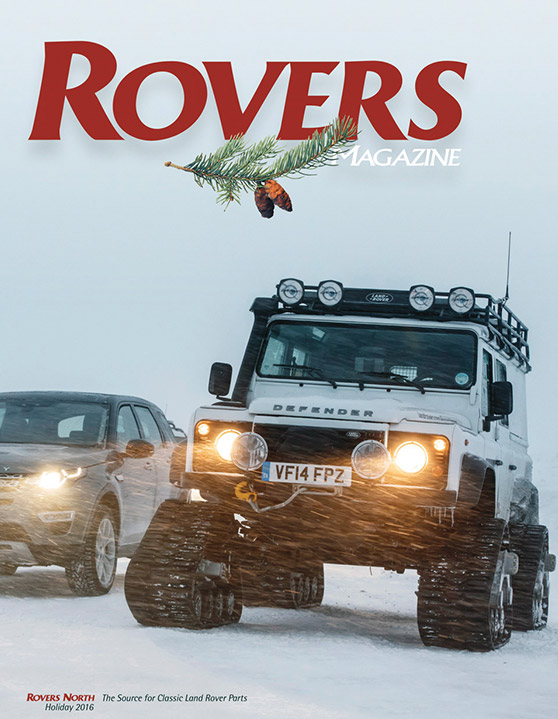 Cover of the Holiday 2016 Rovers North magazine