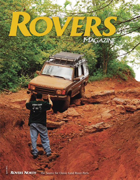 Cover of the Summer 2011 Rovers North magazine