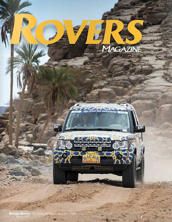 Cover of the Spring 2016 Rovers North magazine