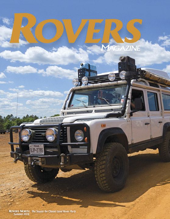 Cover of the Summer 2016 Rovers North magazine