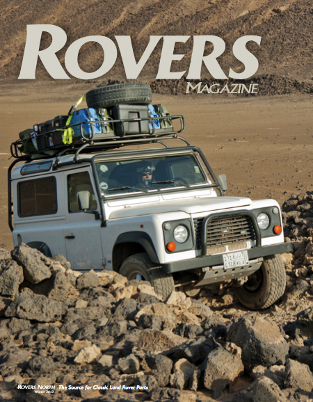 Cover of the winter 2013 Rovers North magazine