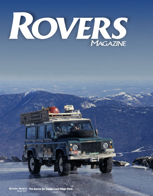 Cover of the winter 2015 Rovers North magazine