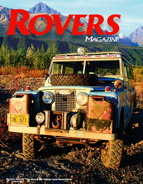 Cover of the Winter 2016 Rovers North magazine