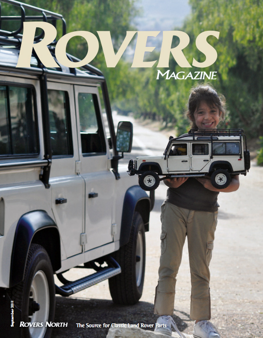 Cover of the Fall 2011 Rovers North magazine