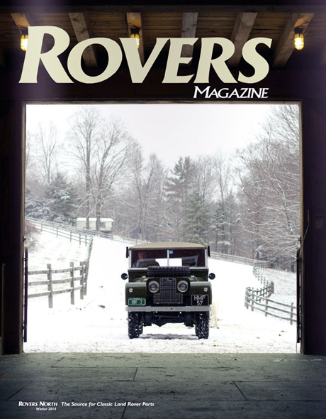 Cover of the winter 2014 Rovers North magazine