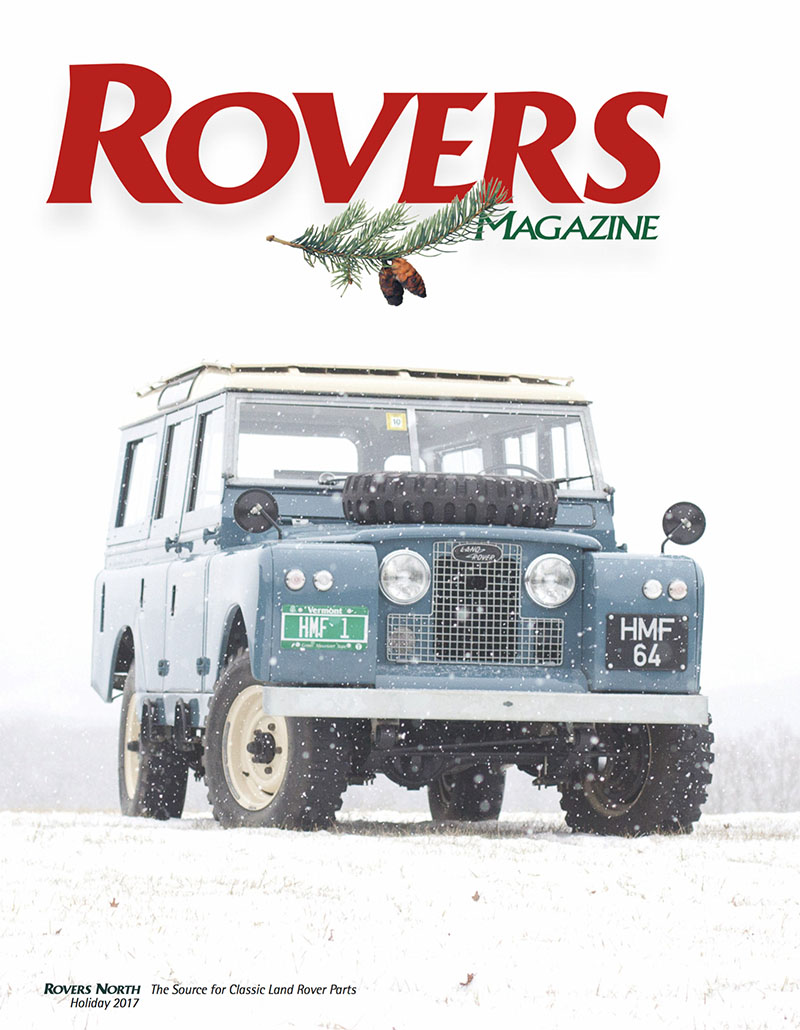 Cover of the Holiday 2017 Rovers North magazine