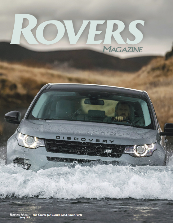 Cover of the Spring 2015 Rovers North magazine
