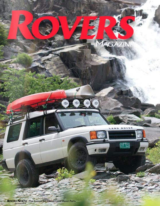Cover of the Summer 2015 Rovers North magazine