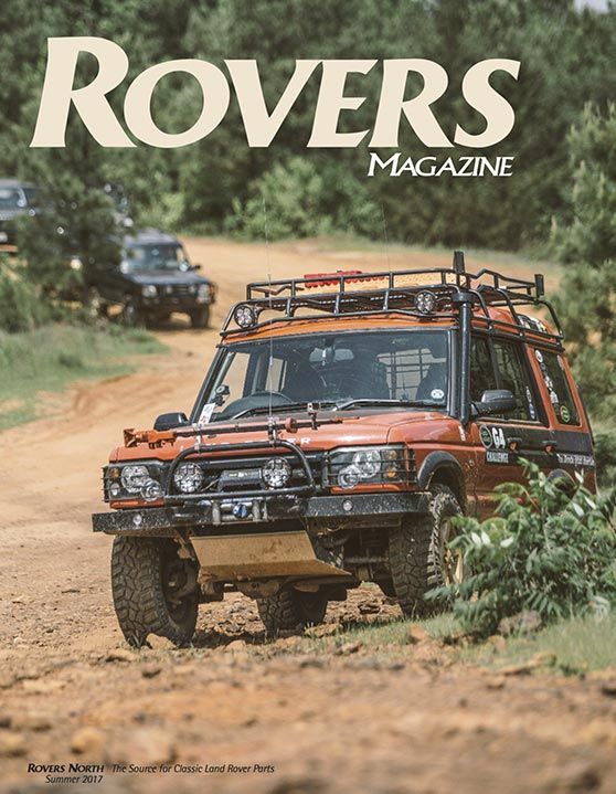 Cover of the Spring 2017 Rovers North magazine