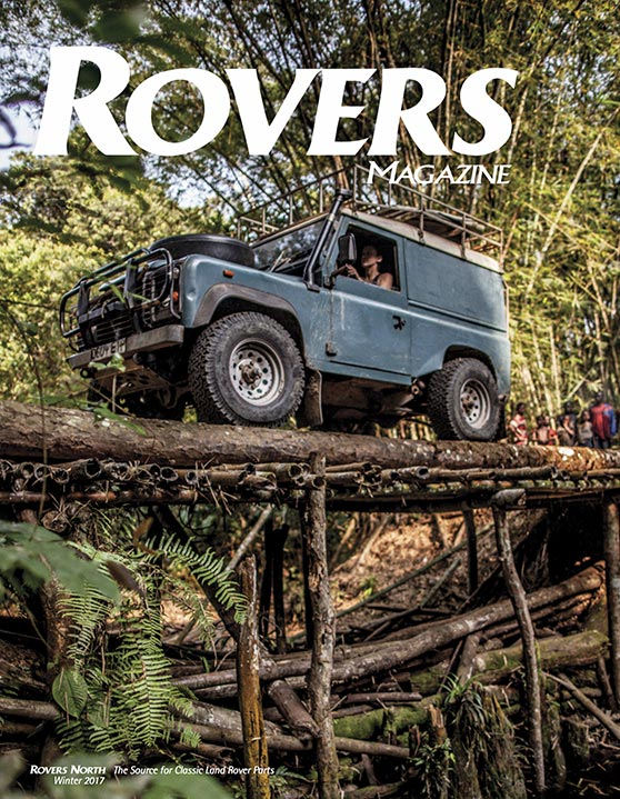 Cover of the Winter 2017 Rovers North magazine