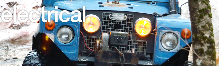land rover 101 wiring diagram series ii  iia  amp  iii electrical rovers north classic  series ii  iia  amp  iii electrical rovers north classic
