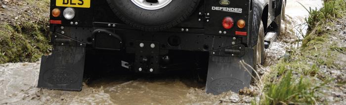 Land Rover Rear Left Mud Flap Bracket Part# MTC8357