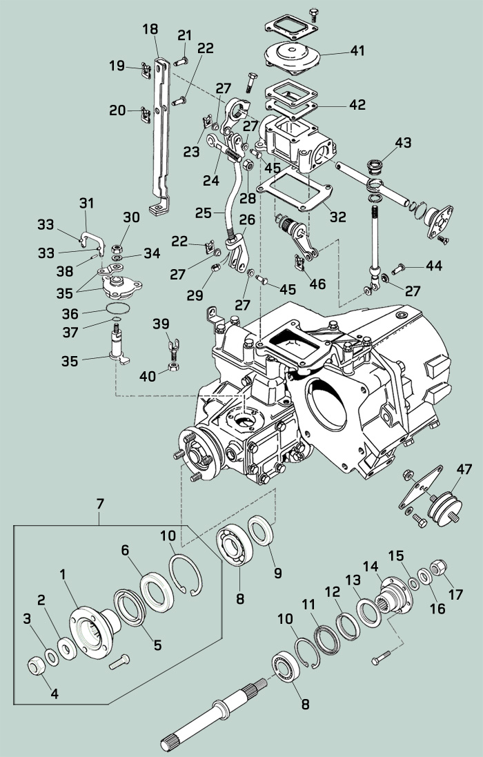 Defender Transfer Case Rovers North Land Rover Parts