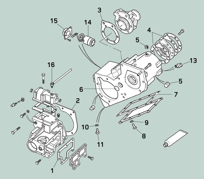 NRC9233 Nuovo di Zecca Genuine LAND Rover Defender 90 Cilindro Principale Per Servo Seal