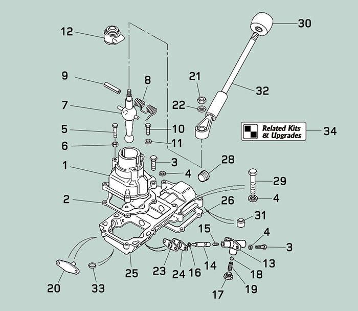 Transfer Case Parts >> Defender Transmission Lever and Linkage | Rovers North - Land Rover Parts and Accessories Since 1979