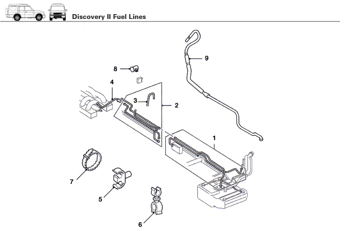 Discovery Ii Fuel Lines And Rovers North Land Rover