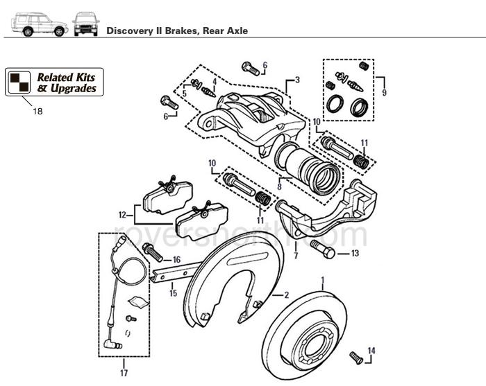 lr3 rear differential motor
