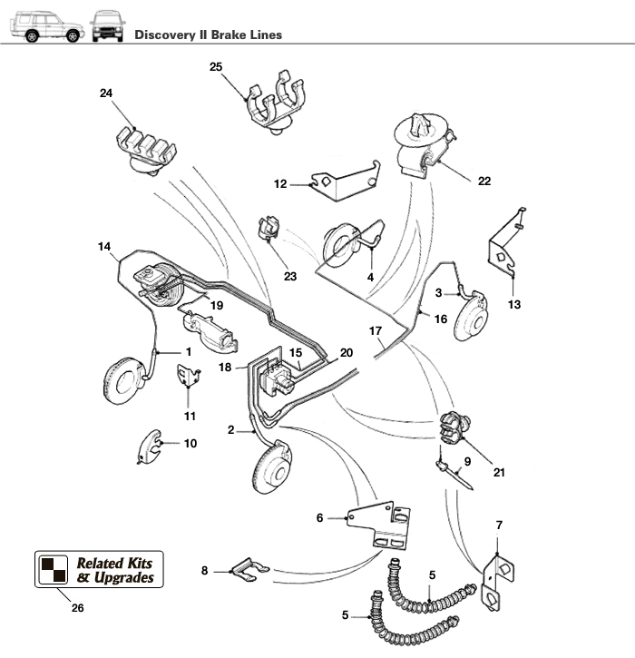 1998 ford expedition rear brake line diagram