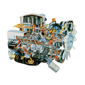 Land Rover Defender V8 Engine