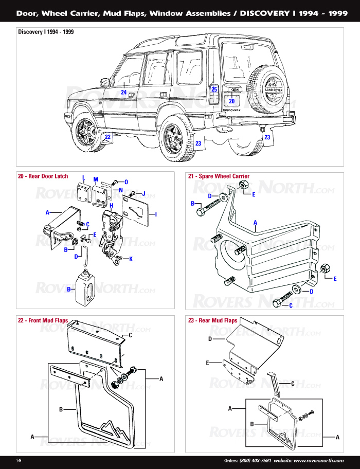 Discovery I Body Panels Rovers North Land Rover Parts