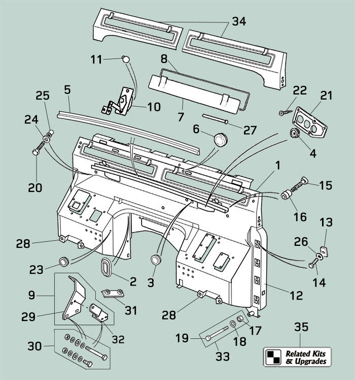 service manual  1994 jeep wrangler dash removal diagram
