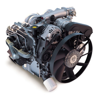 Land Rover Discovery II Engine