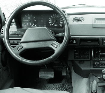 Engine Controls, Shifter, Pedals