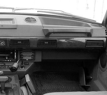 Range Rover Classic Interior Body Footwells, Door Panels, Trim