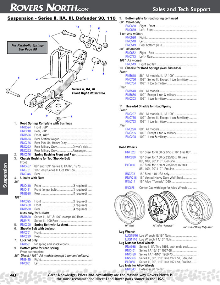 LR-page40.1 Range Rover Steering Diagram on
