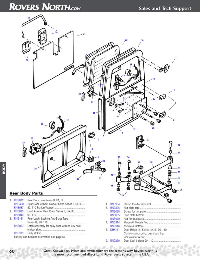 LR page60.1 series ii, iia, iii, body rovers north classic land rover parts land rover series 3 wiring diagram pdf at bakdesigns.co