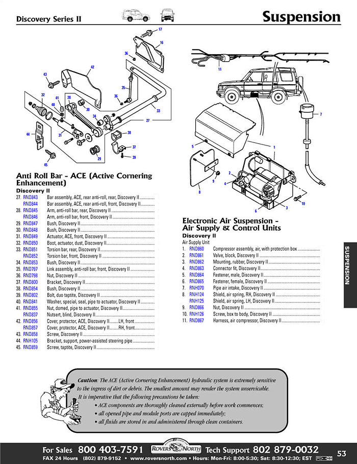 discovery ii rear axle suspension rovers north land rover parts rh roversnorth com 2004 GMC Sierra Wiring Diagram 2004 Mazda 6 Wiring Diagram