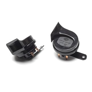 Twin Horn Set High & Low Tone 12 Volt