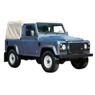 Land Rover Defender 90 Exmoor 3/4 Canvas Top