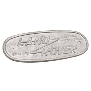 "BADGE ""LAND ROVER"" REPRODUCTION SERIES II, IIA & III"