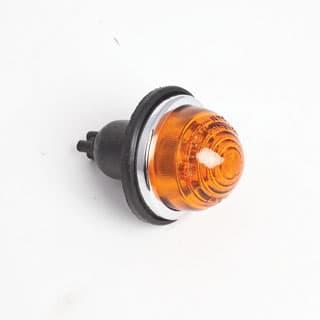Lamp Assembly Amber Glass Beehive Type Series II- IIA