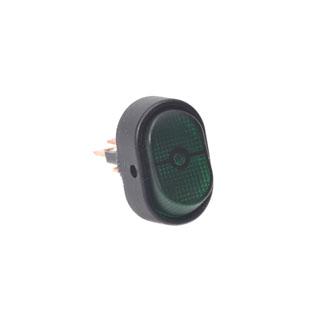 """Hella Switch  On/Off      Illuminated """"On"""" Green"""