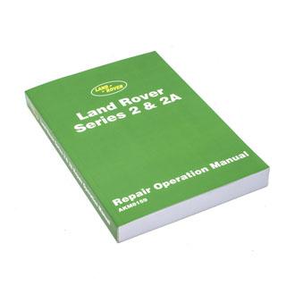 Workshop Manual Ser IIA  1959-71