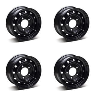 """Set Of 4 Wolf 16"""" HD Road Wheels - Genuine"""