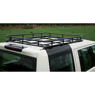 Brownchurch Roof Rack  LR3/LR4  Rear Half (Will Not Fit Vehicles With Sat Nav Receiver On Roof.)