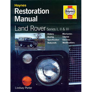 HAYNES RESTORATION MANUAL SERIES I, II & III